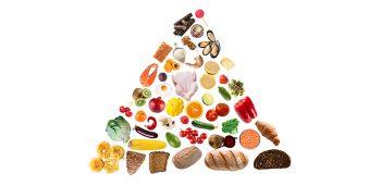 pirámide nutricional - estudiar nutrición