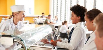 Trabajar en comedores escolares - educación infantil